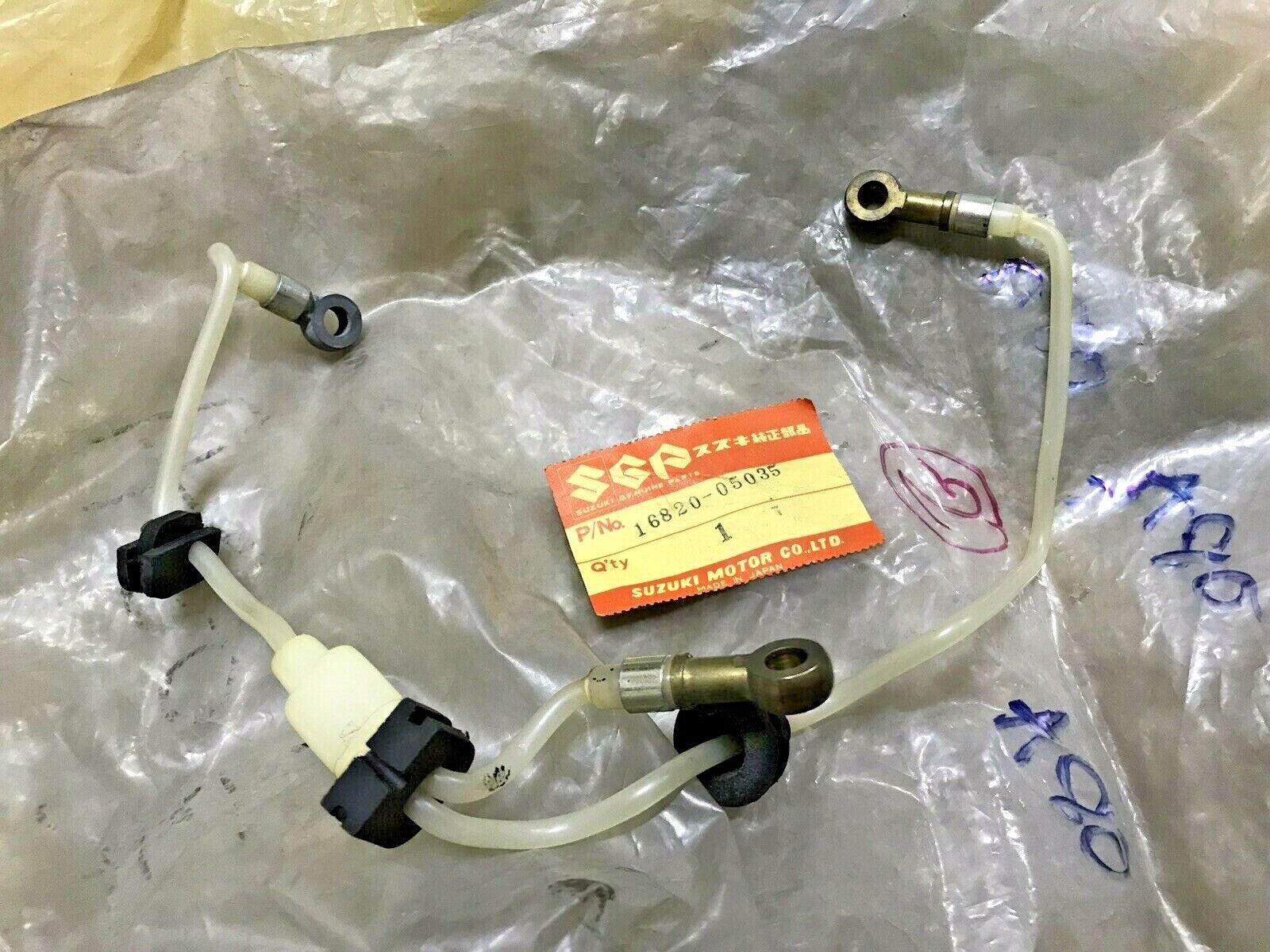 Details about  /Suzuki A50 AC50 AS50 A70 A80 Oil Hose Line Outlet No.2 NOS Genuine 16820-05035