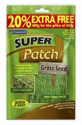 480g Super Patch Grass Seed Lawn Recovery Thickening Gardening