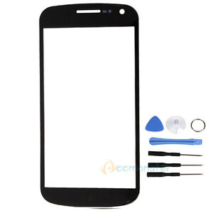 Outer-Front-Screen-Glass-Lens-Cover-for-SamSung-GT-i9250-Galaxy-Nexus-Black