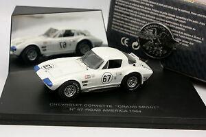 Universal-Hobbies-UH-1-43-Chevrolet-Corvette-Grand-Sport-N-67-Road-America-64