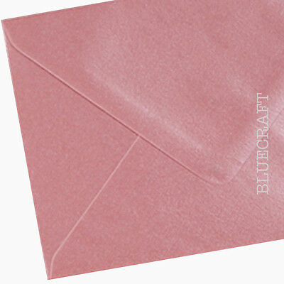 100 x C6 Ice Blue Pearlescent Premium Quality Envelopes 114 x 162mm 100gsm