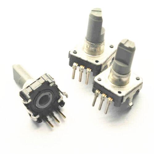 10Pcs Rotary encoder with switch EC12 Audio digital potentiometer 15mm handle