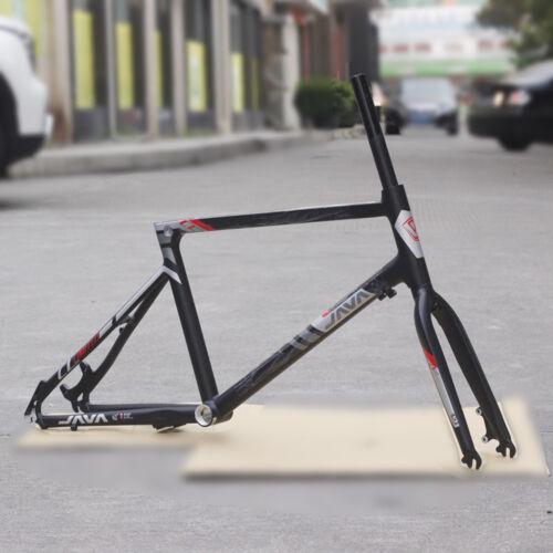 """JAVA Aluminum Frame Fork 20/"""" 451 406 Minivelo Bicycle Frameset Disc Brake 1 1//8/"""""""