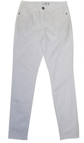 Hose AJC Stretchhose Gr 32 weiß Röhre leichte Stretch-Hose 5 Pockets neu