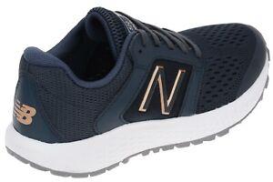 New Balance 520v5 Womens Blue White Walking Running Wide Sneakers ...
