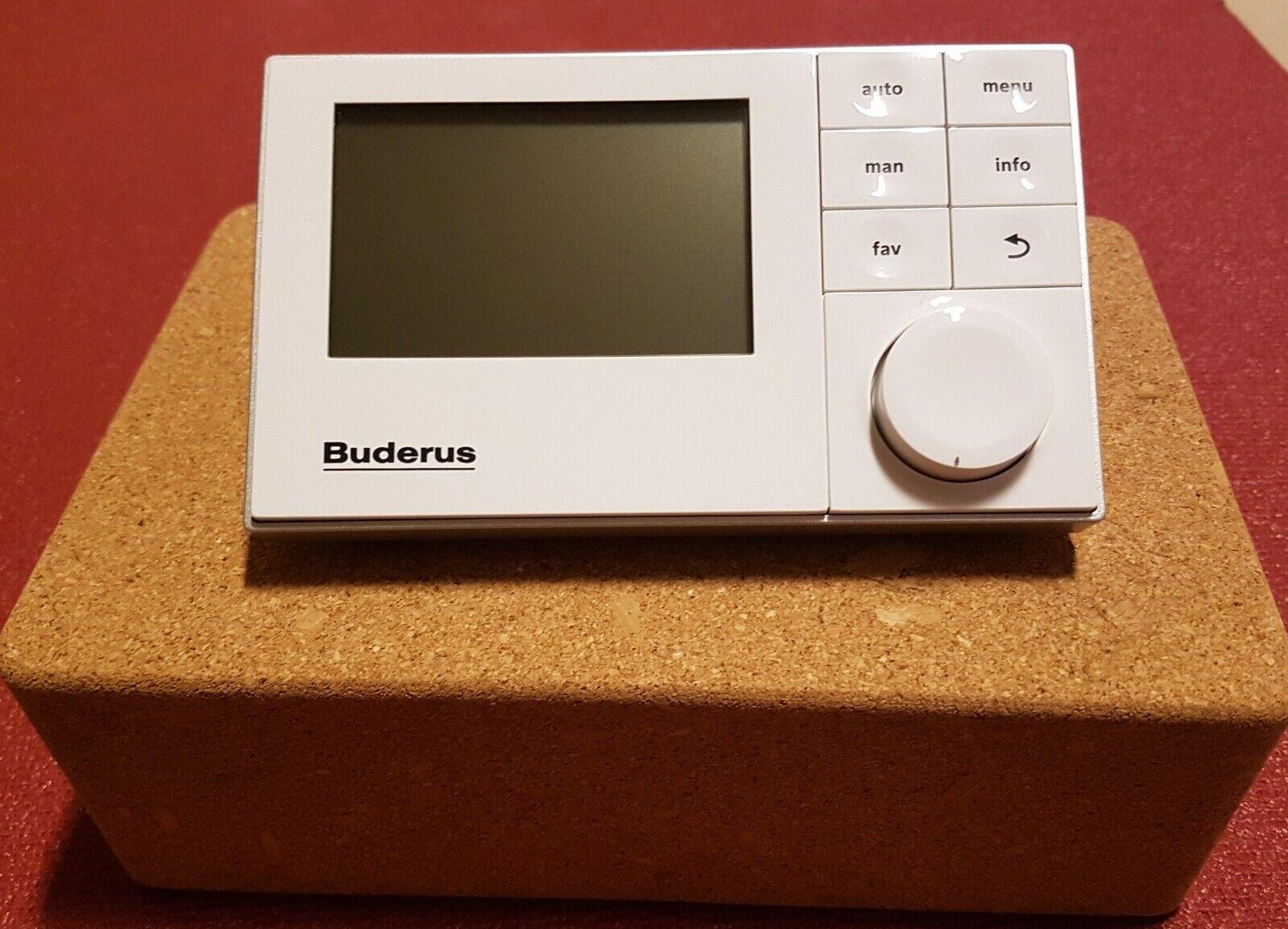 Buderus RC200  Logamatic EMS plus   System-Bedieneinheit raumgeführt  7738110050