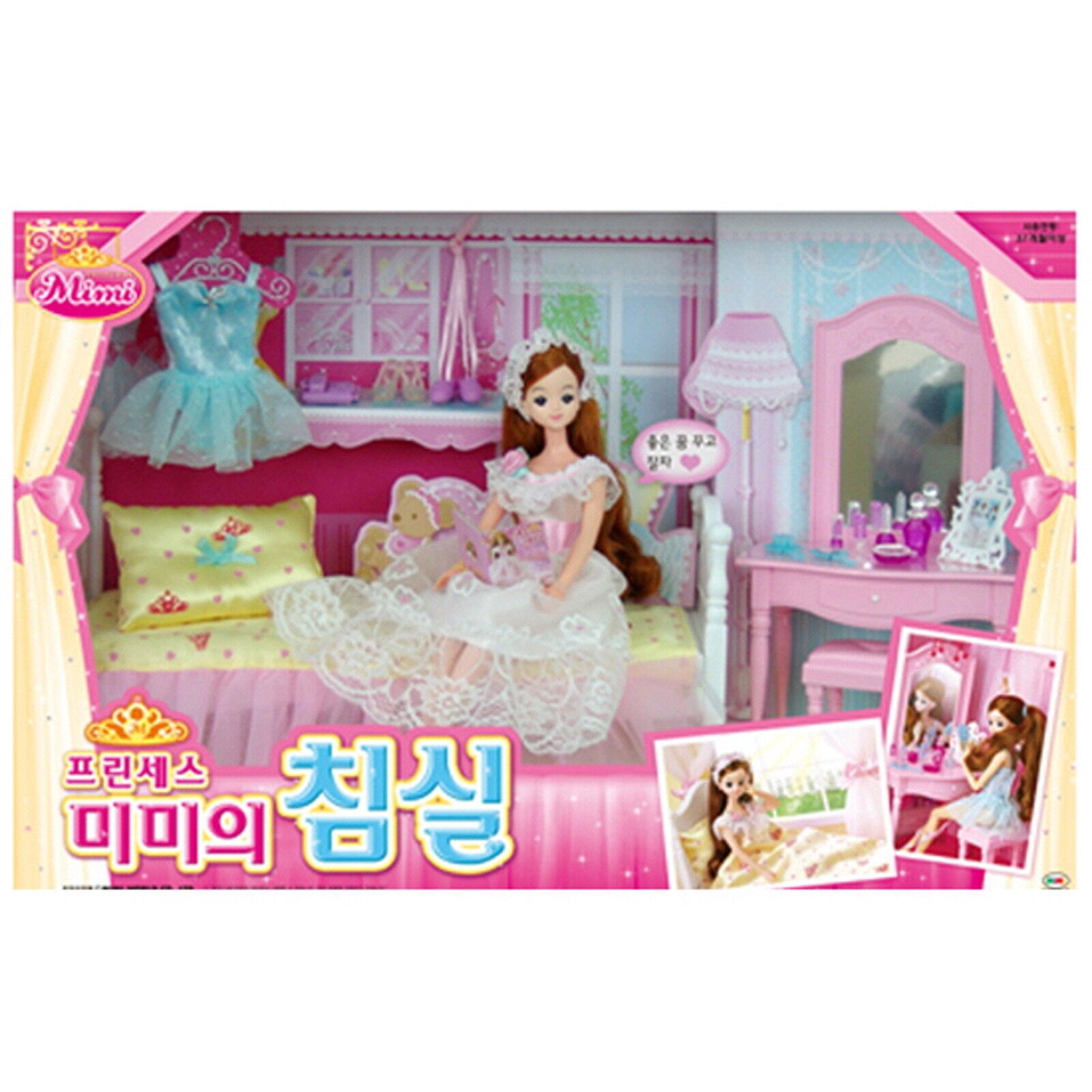 Prinsessan MIMIMI Bedroom Barbie Doll Role Spela Korea Character Fairy Fairy flickor present