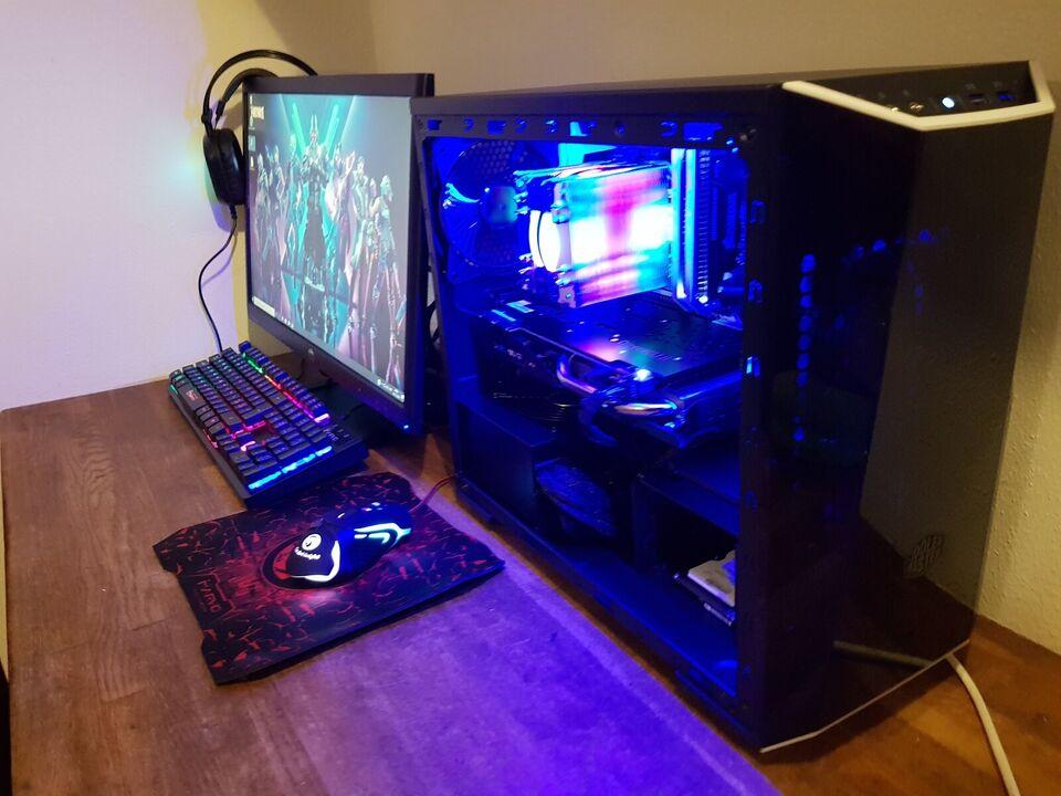 Selvbyg, Coolermaster 970 Strix gamer, 3,5 Ghz