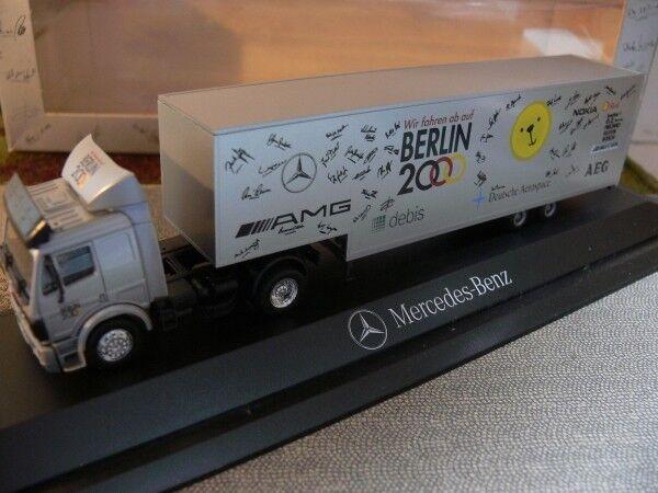 vendiendo bien en todo el mundo 1 87 Herpa MB sk Berlín 2000 2000 2000 AMG remolCochese PC  promociones de descuento