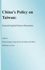 China S Policy On Taiwan Selected English Chinese Documents By Jiang Zemin 9781461183631 Ebay