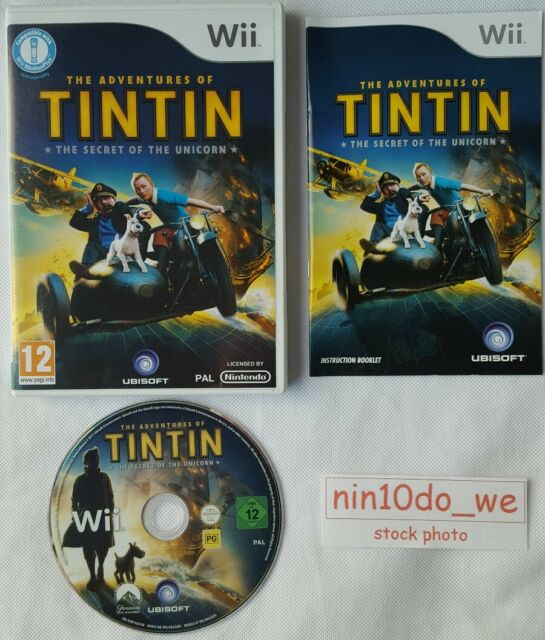 THE ADVENTURES OF TINTIN THE SECRET OF THE UNICORN [Wii] - COMPLETE -
