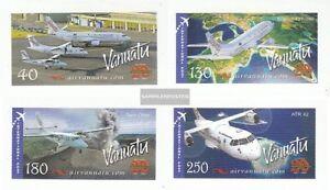 Vanuatu-1340-1343-completa-Edizione-nuovo-linguellato-2007-Compagnia-aerea