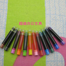 Fountain Pen ink 5PCS 5ml 2.7 mm interface Mixed color Ink Refill Cartridg nrt02