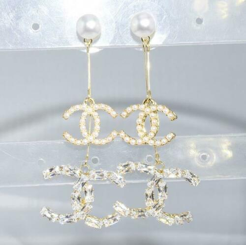 SALE 9ct 9K Gold Filled Ladies Dangle Earrings Birthday Evening Xmas Gift E446