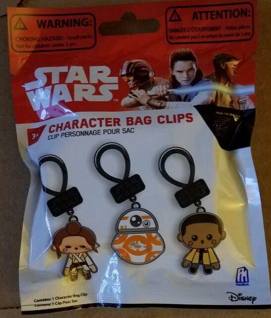 Disney Star Wars the Last Jedi Character Bag Clip KYLO REN