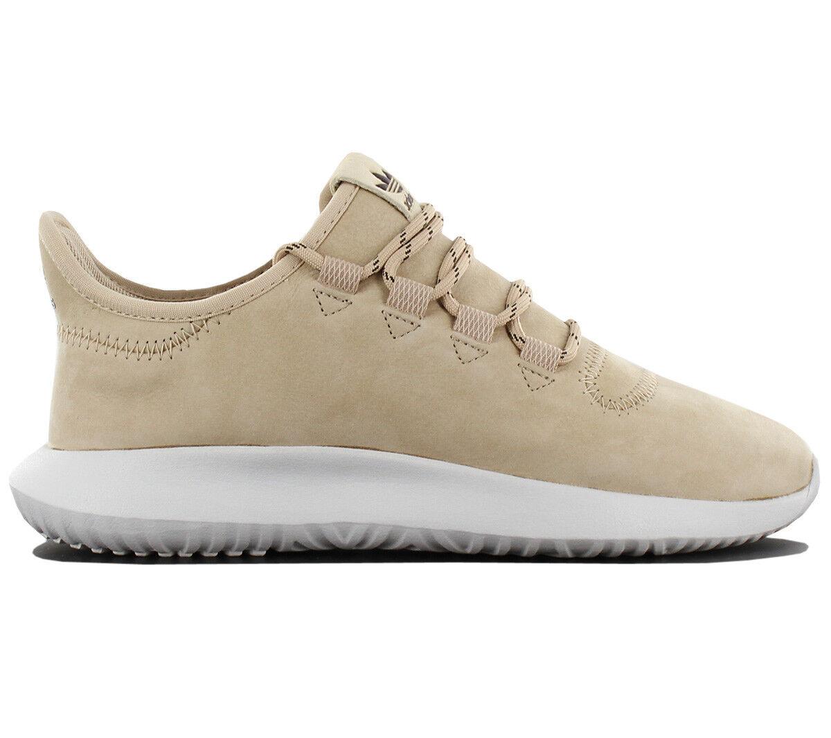 Adidas Originals Tubular Shadow Leather Ladies Sneaker shoes Beige Bb6231