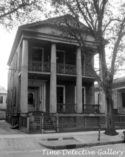 Commercial Building on N Conception St. Historic Photo Print Mobile AL 1934
