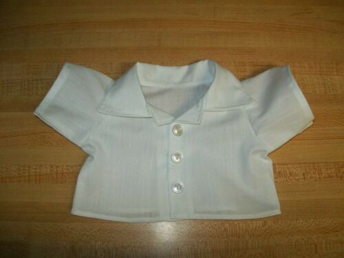 "Button front Plain or Gingham SS shirt--ANY COLOR for 16-17/"" CPK Cabbage Patch K"