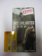 Technisat MTV unlimited/neu Ticket (12Monate) + Smartcard