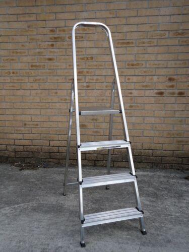 Step Ladder Aluminium Platform Lightweight Folding Stepladders 3 4 5 6 7 8 Tread