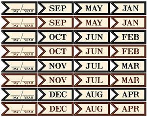 Jbs Flag Stickers Calendar Scrapbooking 32 Flag Banner Pcs 813469016013 Ebay