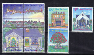 1992-New-Zealand-Christmas-Unmounted-Mint-Stamp-Set-UK-Seller