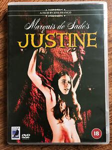 Marquis-De-Sade-039-s-Justine-DVD-1969-Jess-Franco-Cult-Film-Ancora-Bay-UK-Rilascio