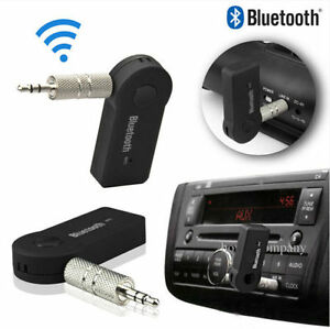 New 3.5mm Bluetooth 3.0 Car Home Music Audio Stereo Receiver Adapter Handsfree