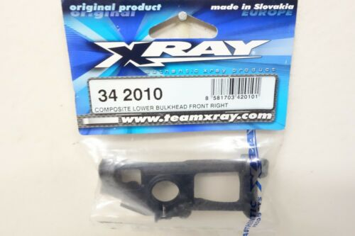 XRAY RX8 342010 COMPOSITE LOWER BULKHEAD FRONT-RIGHT