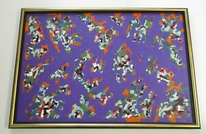 LARGE-LONG-OR-WIDE-PAINTING-ABSTRACT-EXPRESSIONISM-MODERNISM-COLORFUL-TSS-ART