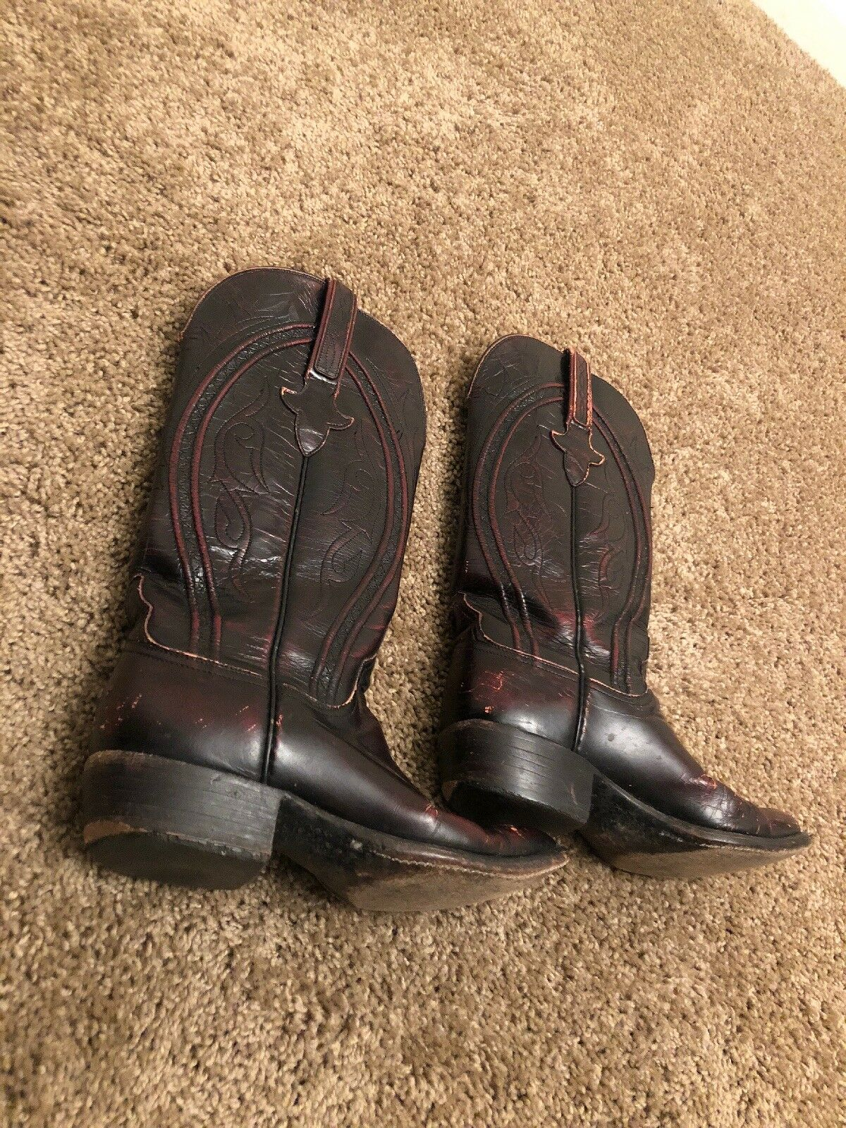 Lucchese womens boots 6 B Used Worn
