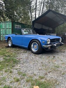 1975 Triumph Tr6 sports car