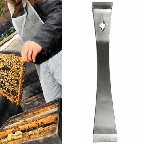 1x Durable Stainless Steel Bee Hive Claw Scraper Beekeeping Tool Pry Equipment
