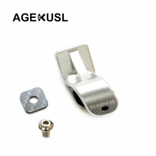 AGEKUSL Bike L type Fork Axle Hook Pothook for Brompton Folding Bike CNC