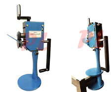 "Rotary Hand Flanger Forming Sheet Metal Fabrication 7/32"" Radius 20 Gauge Edger"