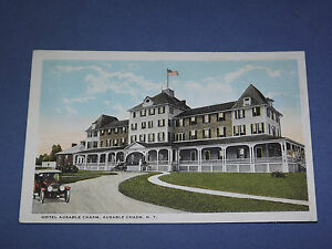VINTAGE-EARLY-1900S-HOTEL-AUSABLE-CHASM-NEW-YORK-POSTCARD