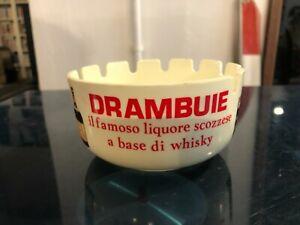 DRAMBUIE-LIQUORE SCOZZESE-RARO POSACENERE PORTACENERE PUBBLICITARIO VINTAGE