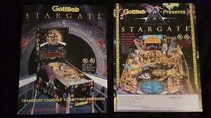 1x Stargate - Gottlieb - ORIGINAL NOS Promotional Advertising Flyer