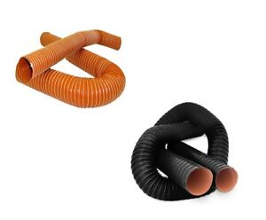 Black-or-Orange-Silicone-2-Ply-Air-Ducting-Suits-Mazda-models