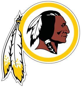 Washington-Redskins-NFL-Color-Die-Cut-Vinyl-Decal-CHOOSE-SIZE-cornhole-car-wall