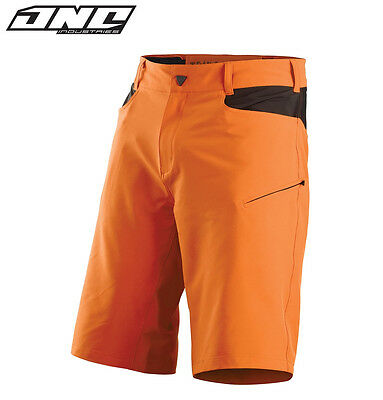 ONE INDUSTRIES ATOM RIDING SHORTS with liner MOUNTAIN BIKE MTB CYLE ORANGE