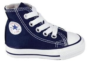 6dea13ad7799 Converse Chuck Taylor All Star Hi Navy White Infant Toddler Boy Girl ...