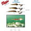 MEPPS-AGLIA-TW-STREAMER-POIDS-3-6-g-4-7-g-6-8-g-palettes-or-argent miniature 2