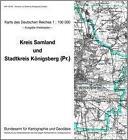 KDR 100 KK Samland und Königsberg (Preussen) (2000, Mappe)