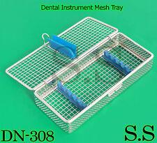 Dental Instrument Sterilization Cassette For 5pcs Stainless Mesh Tray Dn 308