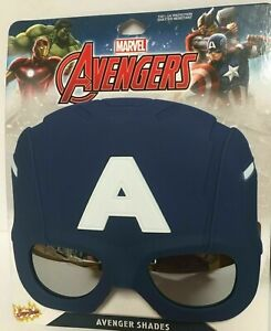 Kidz  Marvel Avengers Sunglasses UV-400 Ironman Captain America
