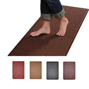 Modern Indoor Cushion Kitchen Rug Anti-Fatigue Floor Mat - Actual ...