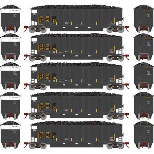 Athearn ATH81545 HO RTR Bethgon Coalporter w/Load, CSX  2  5