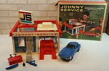 Johnny Service Gas Station Mechanic's Garage Motorized Car Topper Toys W T Grant