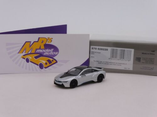 "Minichamps 870028220 # BMW i8 Limousine Baujahr 2015 in /"" silbermetallic /"" 1:87"